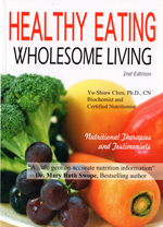 Healthy Eating Wholesome Living book